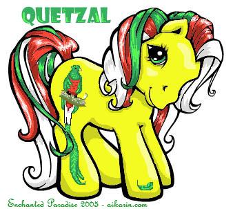 Baby Quetzal