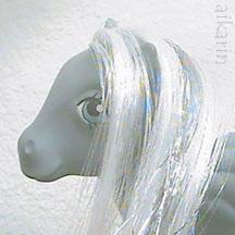 Closeup of Silverflight's face