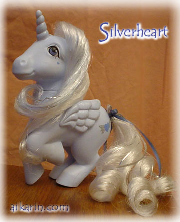 Silverheart - custom pony - click here for enlarged picture