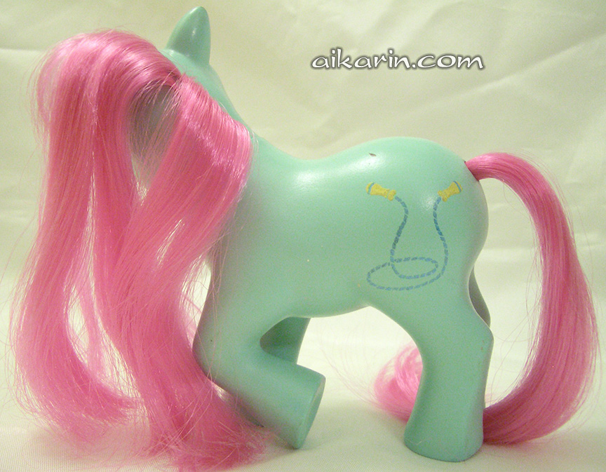 Aikarin.com - My Little Pony - UK Painted Prototype Ponies?